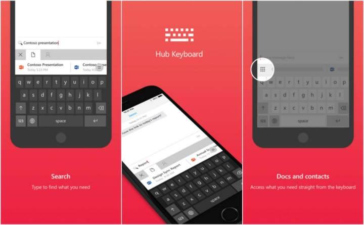 Hub Keyboard para iPhone