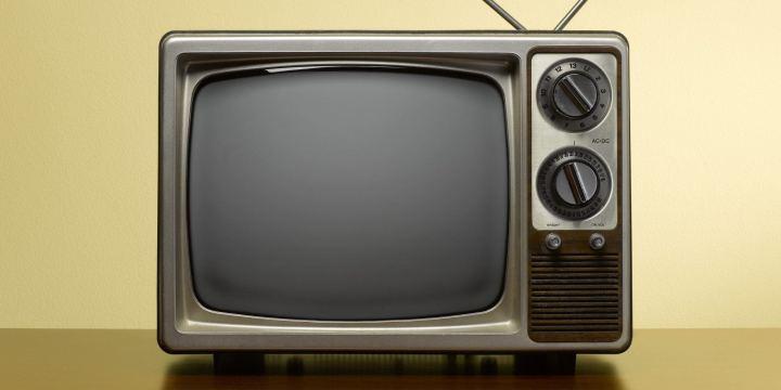 TV analógica vintage
