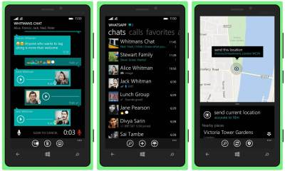 WhatsApp para Windows 10 Mobile