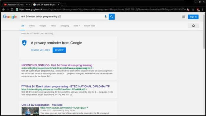Novo visual do Google com Material Design