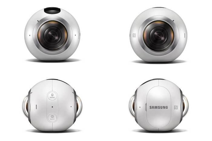Todas as faces da Samsung Gear 360