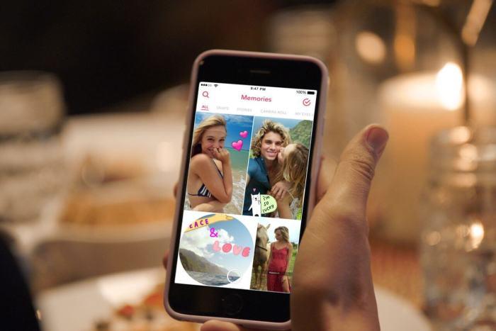 """Conheça a função """"Memórias"""", novidade do Snapchat"""