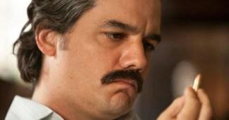 Pablo Escobar na segunda temporada de Narcos