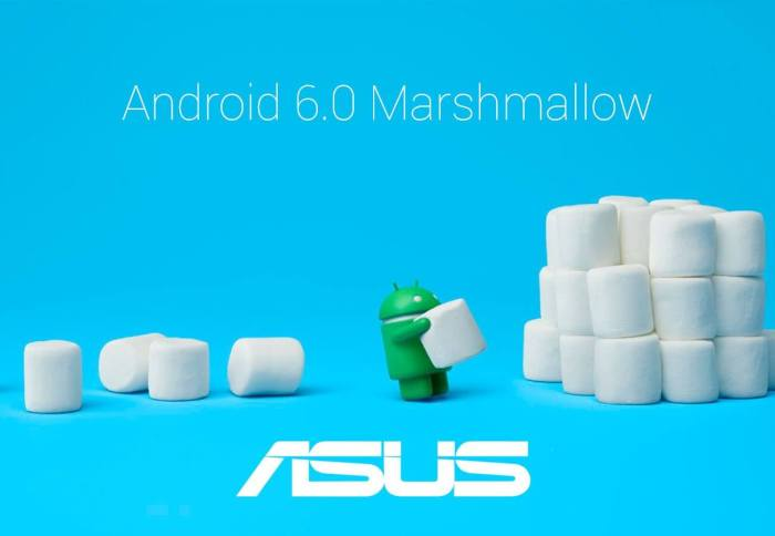 Dispositivos ASUS com Android Marshmallow