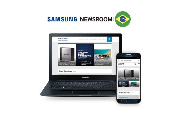 Samsung Newsroom Brasil - Capa