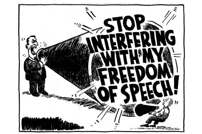 Gab - Liberdade de expressão