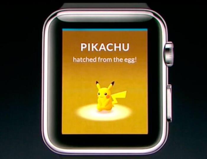 Pikachu Pokemon GO watchOS