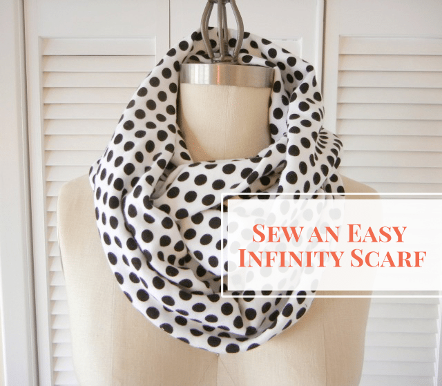 Easy Infinity Scarf . Sewing 101
