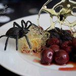 Spun Sugar Spiderweb Dessert