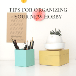 Tips for Organizing a New Hobby - Featured Image