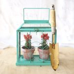 Easy DIY Flower Terrarium - Make a Miniature Greenhouse Made from a Candle Holder - Featured Image