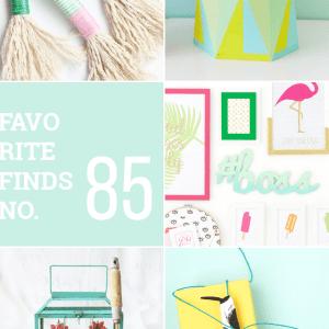 Favorite Finds 85