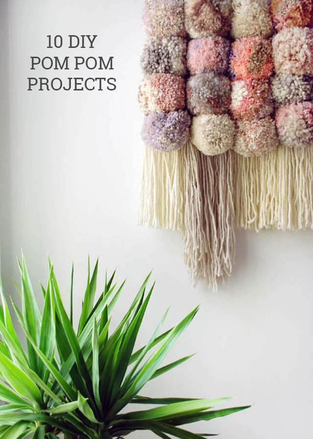 10 DIY Pom Pom Projects