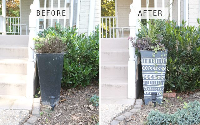http://i0.wp.com/www.shrimpsaladcircus.com/wp-content/uploads/2016/08/Giant-DIY-Mudcloth-Planter-Before-and-After.jpg?fit=640%2C400