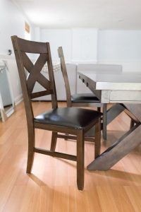 Before and After - DIY Chalk Paint Dining Table and Chairs ...