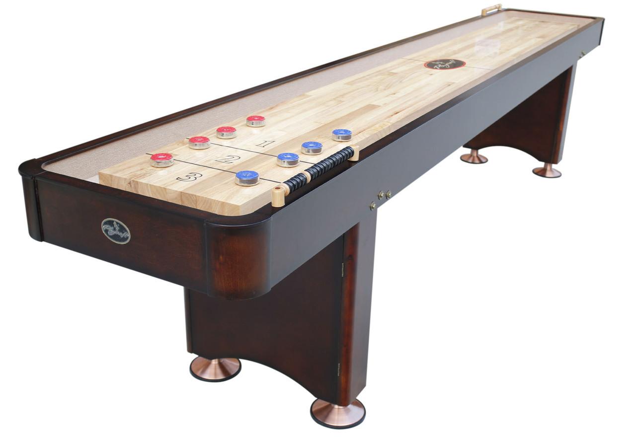 1439 Georgetown Espresso Shuffleboard Shuffleboardnet