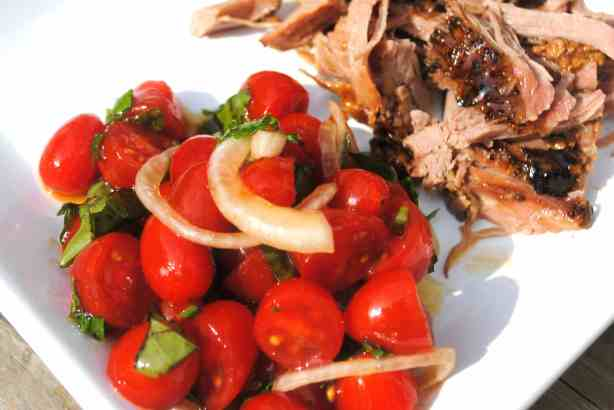 Slow Cooker Balsamic Glazed Pork recipe...this is so fantastic and juicy!