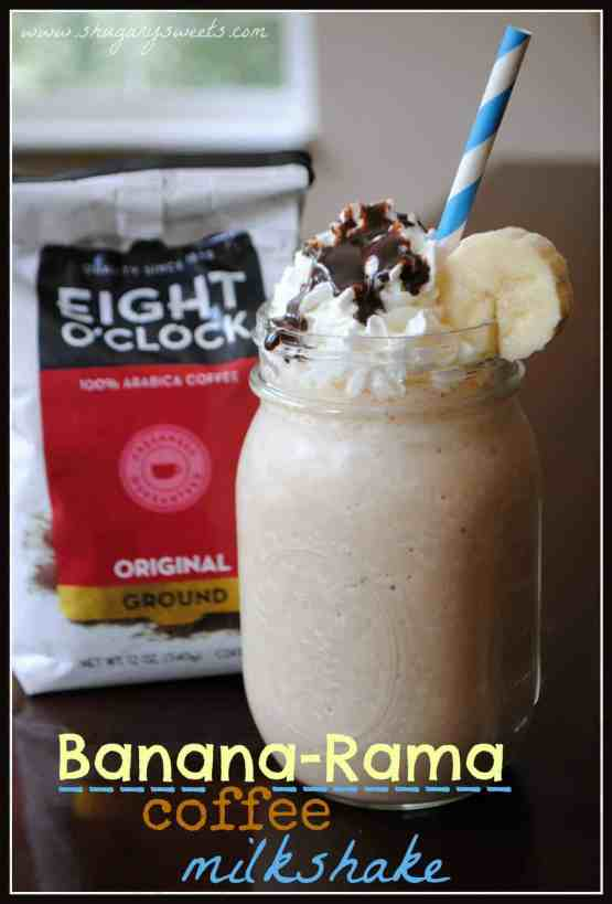 Banana Coffee Milkshake