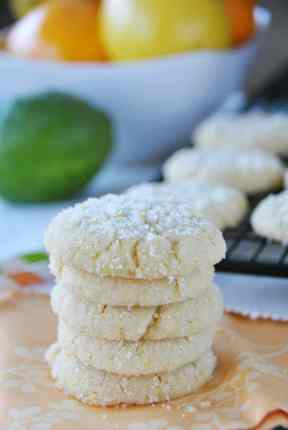 Citrus cookies from www.shugarysweets.com