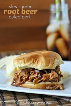 Small Of Pulled Pork Root Beer