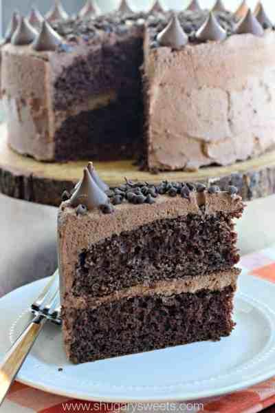 Chocolate Ganache Frosting - Shugary Sweets