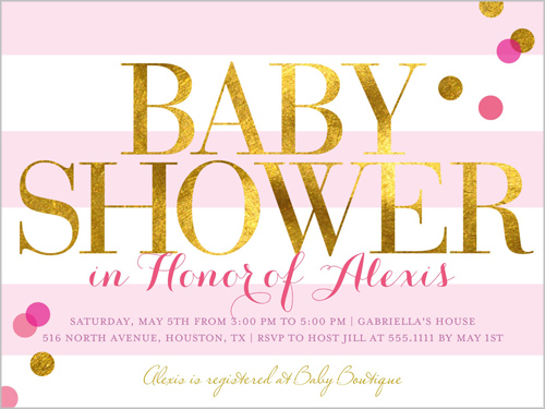 How to Address Baby Shower Invitations Shutterfly - invitation wording for baby shower
