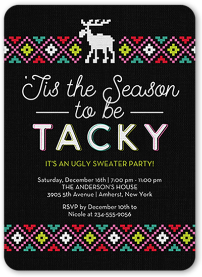 Ugly Christmas Sweater Party Ideas Shutterfly