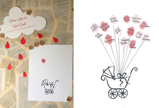 14 Sweet Baby Shower Guest Book Ideas