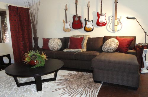 75 Exciting Red Living Room Photos Shutterfly - red and brown living room