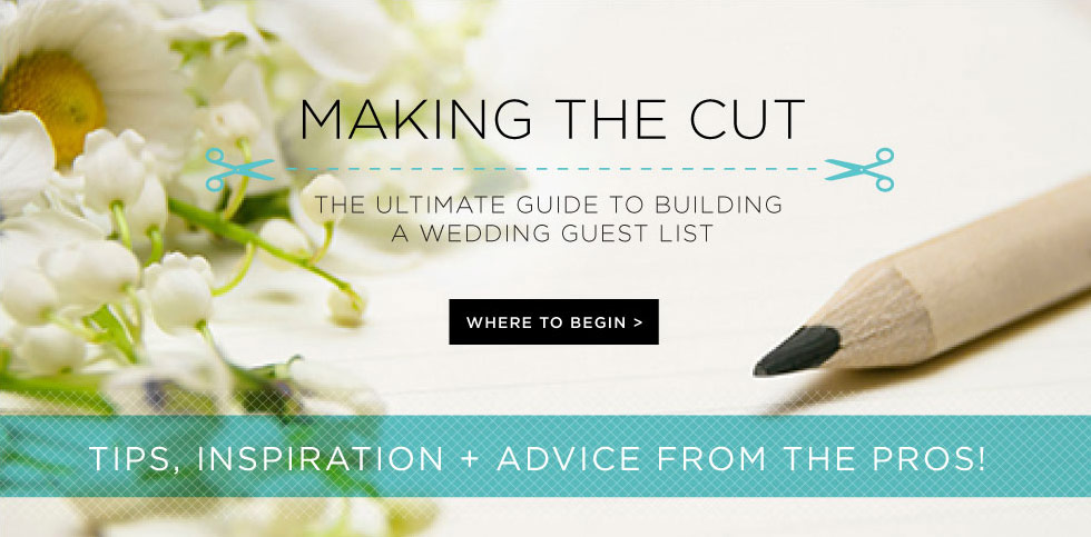 How to Make A Wedding Guest List Shutterfly