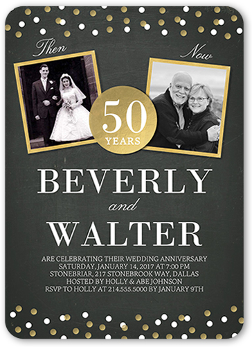 50th Wedding Anniversary Party Ideas Shutterfly - anniversary party ideas