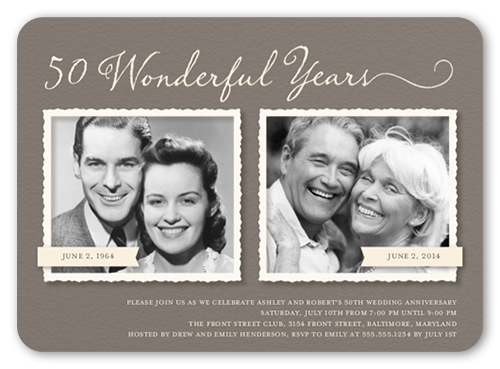 50th Wedding Anniversary Party Ideas Shutterfly