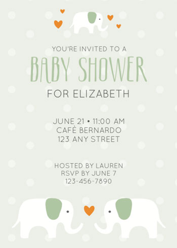 Free Baby Shower Printables - baby shower invitations for word templates