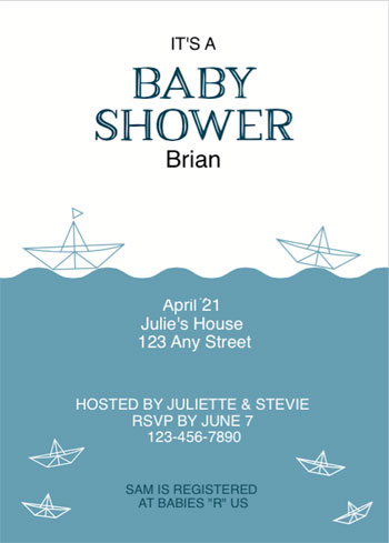 Free Baby Shower Printables - Printable Baby Shower Invite