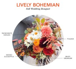 Thrifty Wher Or Not You Are Familiar Bohemian You Can Easily Createa Bohemian Med Fall Floral Yourbouquet Fall Wedding Flowers Shutterfly A Variety