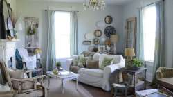 Chic Blue Can Work As A Neutral Like Light Blue Walls This Blue Living Room Photos Shutterfly Blue Living Room Sofa Blue Living Room Decor