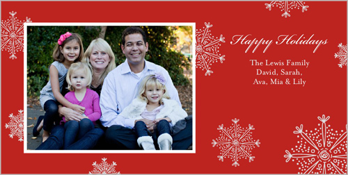 Our Sweet Life Holiday Cards
