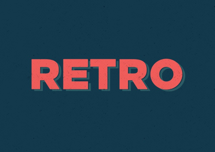Three Easy Vintage Text Effects to Add Retro Charm to Your Designs