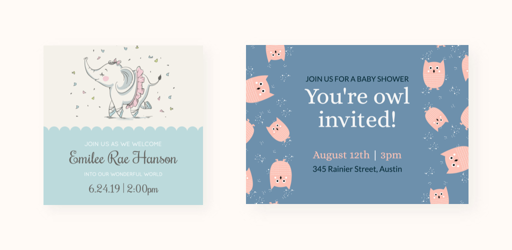 Create a Baby Shower Invitation Card in 5 Easy Steps