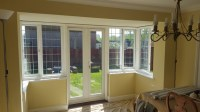 Shutters for Dining Room Square Bay Window and Patio Doors ...