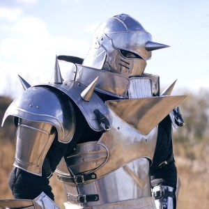 Full Metal Alchemist Alphonse Elric Steel Armor Shut Up And Take My Yen : Anime & Gaming Merchandise
