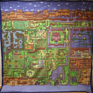 Zelda World Map Bed Sheet Legend of Zelda Shut Up And Take My Yen : Anime & Gaming Merchandise
