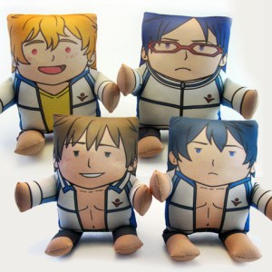 Iwatobi Swim Club Plushies Free! Shut Up And Take My Yen : Anime & Gaming Merchandise