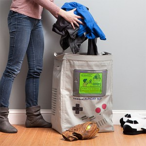 GameBoy Laundry Hamper Shut Up And Take My Yen : Anime & Gaming Merchandise
