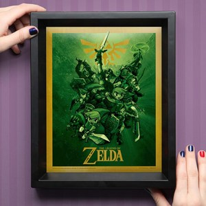 Legend of Zelda 3D Link Lenticular Shut Up And Take My Yen : Anime & Gaming Merchandise