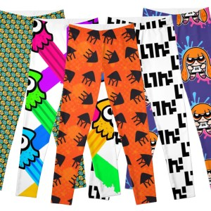 Splatoon Leggings Shut Up And Take My Yen : Anime & Gaming Merchandise