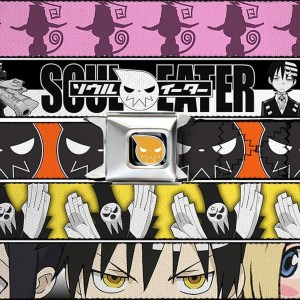 Soul Eater Seatbelt Belts Shut Up And Take My Yen : Anime & Gaming Merchandise