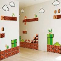 Super Mario Wall Graphics - Shut Up And Take My Yen