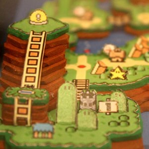 Super Mario World 3D Papercraft Shut Up And Take My Yen : Anime & Gaming Merchandise