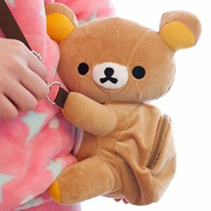 Rilakkuma Plush Shoulder Bag